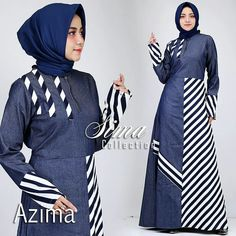 Muslim Women Fashion, Modern Hijab Fashion, Batik Fashion, Hijab Fashion Inspiration, Abaya Fashion, African Fashion Dresses, Fashion Outfits, Modest Wear, Muslim Dress