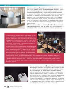 IMCB Cocinas y Baños #83  Revista especializada en el entorno de la cocina y el baño creada para los profesionales de la instalación y el vendedor profesional. El herraje encauza el camino -  Cevisama, innovación en un nuevo formato -  ISH Frankfurt 2015 soluciones para un mundo más confortable y sostenible .
