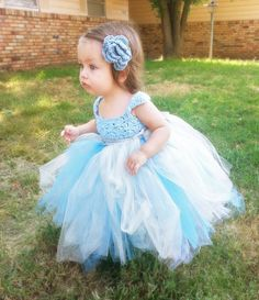Princess tutu dress. Etsy listing at https://www.etsy.com/listing/174948553/rags-to-riches-hand-crochet-princess