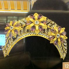 Art nouveau tiara. Visit Renaissance Fine Jewelry in Vermont or a www.vermontjewel.com for the ultimate bridal  jewelry!