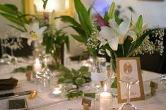 plan de table,  déco champêtre bougies diy