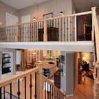 Canadian Maple Hard Wood & Matching Maple Handrail w/ Iron Balusters traditional-staircase Traditional Staircase, Iron Balusters, Canadian Maple, Hardwood, Stairs, Loft, House, Furniture, Home Decor