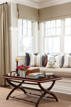 <p>Window seats offer stylish spots to doze, visit, or view the world outside</p>
