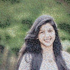 A photo mosaic is a picture that is created out of thousands of other pictures.