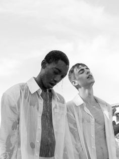 Luis Mba and Hector de Pedro photographed by Sara Lekuona and styled by Victor Nouman, in exclusive for Fucking Young! Online. Art Direction: Eugenio Fernández Production: Teratoma... »