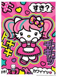 Photo of hello kitty kawaii japanise for fans of Kawaii World ♥.