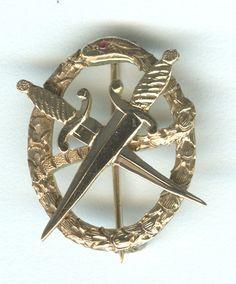 Old school Theta Chi badge. #legit
