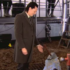 Tom Hiddleston | Shots of #Loki in the first Thor movie | Behind The Scenes #Marvel