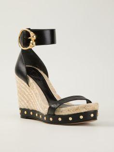 27a8798402c642 Alexander McQueen - studded espadrilles sandals 6 Espadrille Sandals