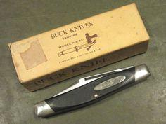 Vintage Buck 301 USA 1973-85 3 Blade Stockman Hunt Fish Camp Old Pocket Knife #Buck