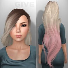 sims 4 cc straight hair - Google Search