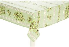 Provence Olive Tablecloth, Green