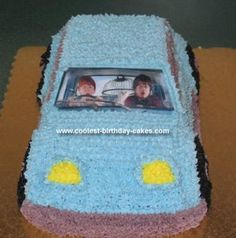 This is the Birthday Cake I will be making for Nathan's Birthday in April. Already found the pan on Amazon a while ago. Can't wait!
