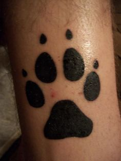 16 Best Paw Print Tattoos Images Paw Print Tattoos Tattoo Ideas