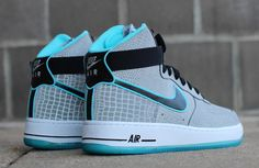 """Nike Air Force 1 Hi CMFT Premium """"Reflect Silver Croc"""" (Detailed Pictures"""