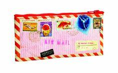 Blue Q Airmail Pencil Case