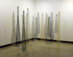 Anna Coddington Rast. NETS, 2011, handknotted nets
