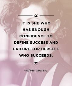 Quotes to build confidence: REPIN these words from #girlboss Sophia Amoruso to inspire others!