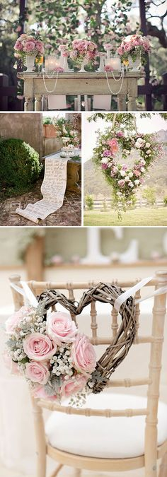 Ideas para una boda muy rom& en colores pasteles ++ CustomMade ++ M& Chic Wedding, Perfect Wedding, Wedding Ceremony, Rustic Wedding, Our Wedding, Dream Wedding, Luxury Wedding, Wedding Music, Spring Wedding