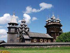 ユーラシア旅行社ロシアツアーで行く、キジー島