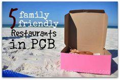 Beach Eats: Five Family Friendly Restaurants in Panama City Beach: http://www.suitcasesandsippycups.com/2014/05/family-friendly-restaurants-in-panama-city-beach.html via @Jessica Bowers #travel