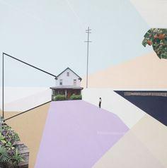 'Dimensions' Mixed Media 65 x 65 cm 2016