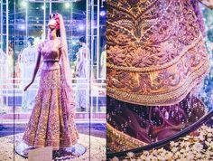 Tarun Tahiliani Bridal Couture....this lengha is made of Swarovski crystals! Stunning!