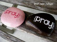 {prayer rocks} - Simply Kierste