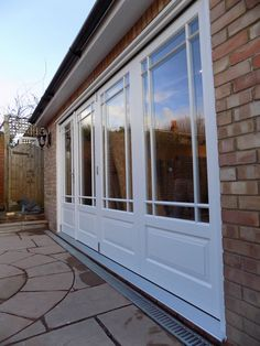 Bifold door installation in Ealing London - Enfield Windows & do not like the pattern of the door too wide does not need to go ...