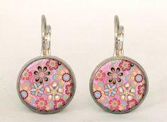 RETRO FLOWERS Earrings, 0206ERS from EgginEgg by DaWanda.com