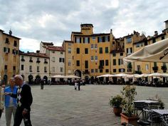 Piazza Lucca. The Tuscan city of Lucca dates back over 2100 years to Etruscan times. The city was once an independent republic and was second only to Venice in importance.