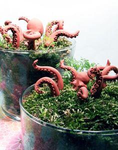 Terracotta Octopus Garden