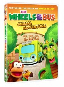 """""""Wheels on the Bus Animal Adventure"""" DVD from eOne (**GIVEAWAY**) - US, 10/31"""