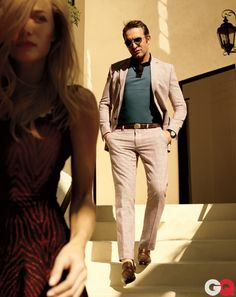 #JeanDujardin #DaddyComplex #plaid #suits