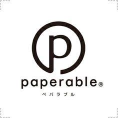 ロゴマーク/ @のように紙とつながるものづくりを 表したブランドマークです。