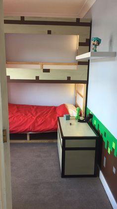 IKEA KURA Minecraft decor bed hack
