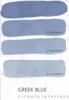Varying tints possible with Chalk Paint® decorative paint by Annie Sloan. A combination of Greek Blue & Old White by Ciruelo Interiors. Key-Miller this is the mix thing I was telling you about. She has a recipe for every color! Chalk Paint Projects, Chalk Paint Furniture, Bedroom Furniture, Furniture Ideas, Furniture Makeover, Headboard Makeover, Blue Furniture, Distressed Furniture, Furniture Design