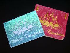 Márcia - cartões: Cartões de Natal 1