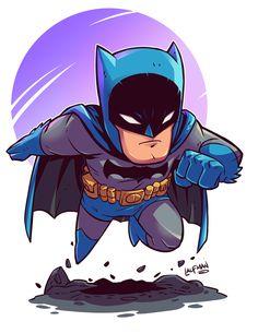 Chibi Batman by DerekLaufman