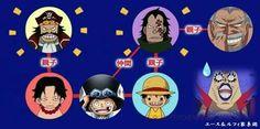 ONE PIECE☆エース&ルフィ 家系図