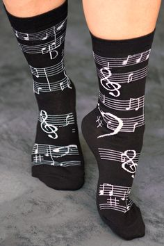 Music Notes Crews - sockdreams.com