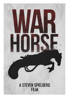 War Horse - alternative poster for the 2012 Oscars, Best Picture nominee by Rowan Stocks-Moore