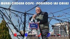 -------    HUERTO URBANO    ------------        Luis Serviá Borgas ----: MURAL VESTÍBULO CADENA COPE PONIENDO LAS CALLES