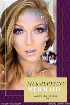 Improve Your Look With This Great Fashion Advice Best Halloween Makeup Mesmerizing Mermaid Beauty And More, Hallowen Costume, Costume Ideas, Pretty Halloween Costumes, Mermaid Parade, Cool Halloween Makeup, Fantasias Halloween, Halloween Disfraces, Fantasy Makeup