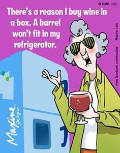 There's a reason I buy wine in a box. A barrel won't fit in my refrigerator.