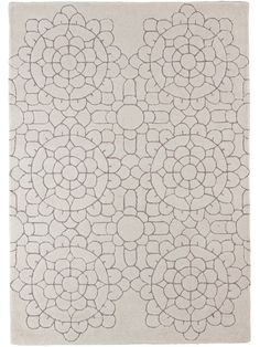 Handwoven with embossed grey detailing, this Moroccan inspired cream wool rug has an intricate design to make a statement in your living space. This product is not available for Next Day Delivery in the UK and due to