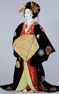 Shimabara Tayu, a most high class prostitute in Shimabara, Kyoto.