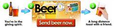 Buy Beer Online - Buy a Beer for Your Buddy Buy Beer Online, Giving, Friends, Amigos, Boyfriends