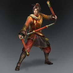 Ling Tong & Weapon (Wu Forces)