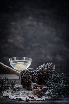 A refreshingly simple but delicious summer cocktail! Food Styling | Food Photography | Dark Food Photography | Moody | Anisa Sabet | The Macadames